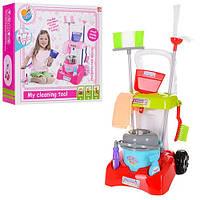 Дитячий ігровий набір для прибирання з візком
