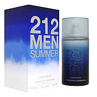 Мужская туалетная вода Carolina Herrera 212 Men Summer Limited Edition