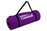 Мат для фитнеса HS-4264 1,5 см, Фиолетовый