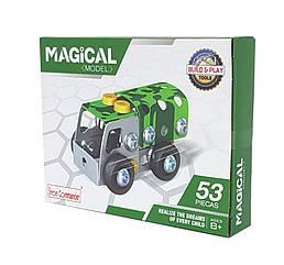 """Металевий конструктор """"Військова серія"""" Build and Play Tools 816B-36 (Вантажівка)"""