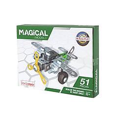 """Металевий конструктор """"Військова серія"""" Build and Play Tools 816B-36 (Літак)"""