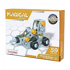 """Металевий конструктор """"Серія Будівельники"""" Build and Play Tools 816B-3 (Бурова)"""
