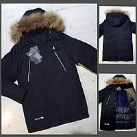 """Куртка подростковая зимняя на мальчика размеры 36-44  """"MALIBU"""" недорого от прямого поставщика"""