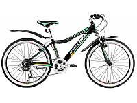 """Велосипед Cyclone 24"""" ULTIMA-Disk рама 14"""" черный"""