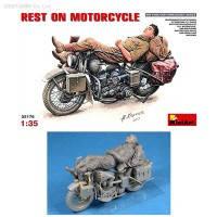 Сборная модель Отдых на мотоцикле, MiniArt (MA35176)