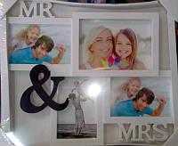 "Фоторамка коллаж ""Mr and Mrs """
