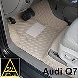 Шкіряні Килимки Audi А8 D4 з Екошкіри 3D (2010-2017) Килимки Ауді А8, фото 7