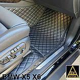 Килимки BMW Х5 F15 з Екошкіри 3D (2014-2018), фото 6