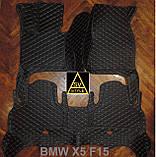 Килимки BMW Х5 F15 з Екошкіри 3D (2014-2018), фото 3