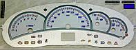 ProSpirit - Накладки на панель приборов для ВАЗ 2118 Лада Калина (LADA KALINA), Metal & Blue, F95