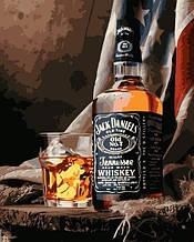 Картина по Номерам Jack Daniels 40х50см Strateg