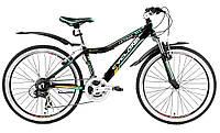 """Велосипед Cyclone 24"""" ULTIMA рама 12"""" черный"""