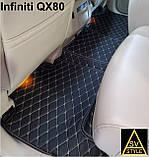 Шкіряні Килимки Infiniti QX56 з Екошкіри 3D (2002-2010) Кворики Інфініті 56, фото 3