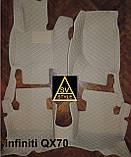 Кожаные Коврики Infiniti QX80 из Экокожи 3D (2010+) Коврики Инфинити 80, фото 10