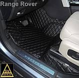 Кожаные Коврики Range Rover Evoque (2011-2018) из Экокожи 3D Коврики Рендж Ровер Эвок, фото 3