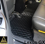 Шкіряні Килимки Toyota Prado 120 з Екошкіри 3D (2002-2009) Килимки Тойота Прадо 120, фото 8