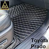 Шкіряні Килимки Toyota Prado 120 з Екошкіри 3D (2002-2009) Килимки Тойота Прадо 120, фото 9