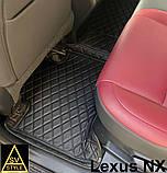 Кожаные Коврики Lexus NX (2014+) из Экокожи 3D Коврики Лексус НХ, фото 4