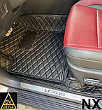 Кожаные Коврики Lexus NX (2014+) из Экокожи 3D Коврики Лексус НХ, фото 3