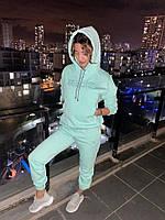 """Спортивный костюм женский на флисе с капюшоном размеры S-XL (3цв)""""SMILE"""" купить недорого от прямого поставщика"""