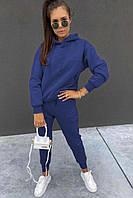 """Спортивный костюм женский на флисе с капюшоном размеры S-L (6цв)""""SMILE"""" купить недорого от прямого поставщика"""
