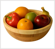 Бамбуковая салатница 15 см Vinzer  69911