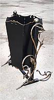Кованая корзина для мусора поворотная
