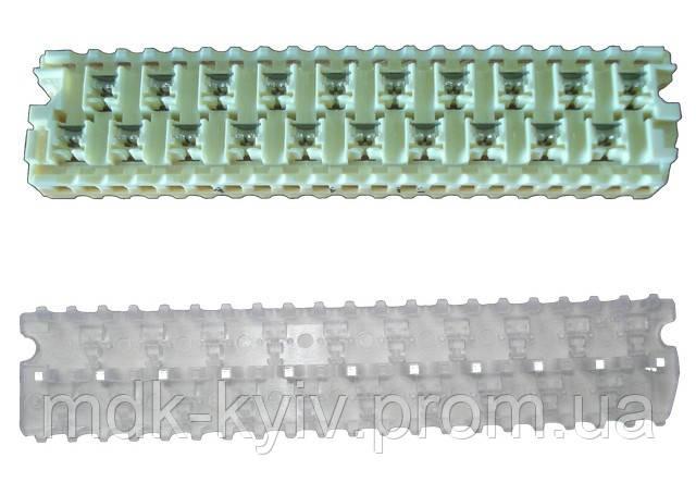 MB-10S - модульный соединитель на 10 пар, d=0.32...0.9мм, с гелем (аналог TE AMP STACK IV и 3M MS 9700-10G/TR)