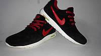 Кроссовки Мужские Roshe Roshe Yeezy Nike (35 - 45 черно красные), фото 1