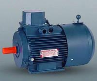Электродвигатель со встроенным электромагнитным тормозом АИР132М6