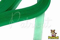 Кринолин (регилин) мягкий Тропический зеленый 1.5 см 1 м