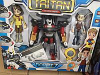 Набор роботов Трансформер Тобот Тритан