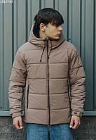 Зимова куртка Staff K brown basic