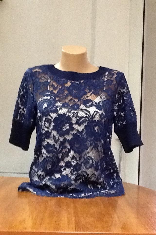 Блуза женская кружевная в стиле Valentino