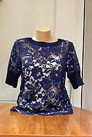 Блуза женская кружевная в стиле Valentino, фото 1