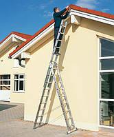Аренда Трехсекционной алюминевой лестницы-стремянки. Vinco.  Днепропетровск