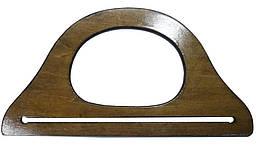 Ручка для сумки деревянная коричневая