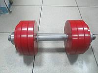 Гантели разборные окрашенные 40 кг пара
