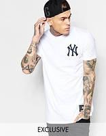 Футболка мужская белая New York