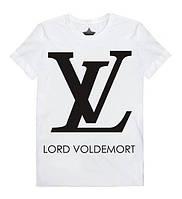 Футболка мужская белая Lord Voldemort