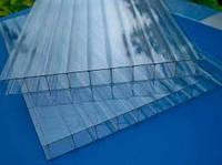 Поликарбонат сотовый 10х2100х6000 мм  прозрачный 10 мм