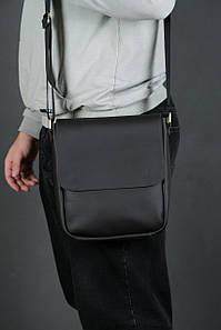 Шкіряна чоловіча сумка Брюс, натуральна шкіра Grand колір коричневый, оттенок Шоколад