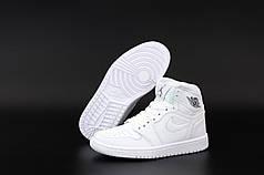 Жіночі кросівки Nike Air Jordan.White. ТОП Репліка ААА класу.