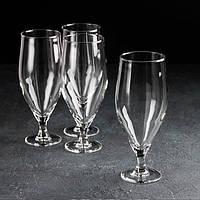 Набір бокалів для пива «Час дегустацій. Пивний тюльпан», 620 мл, 4шт.