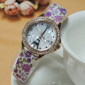 Женские кварцевые наручные часы Paris Fiori Lila, фото 2