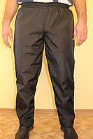Черын спортивные брюки плащевка на флисе