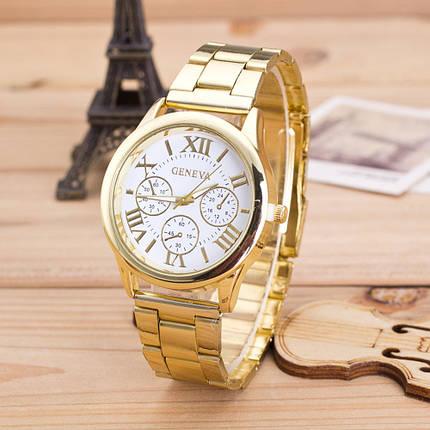 Кварцевые наручные часы Geneva Oro sur Blanka, фото 2