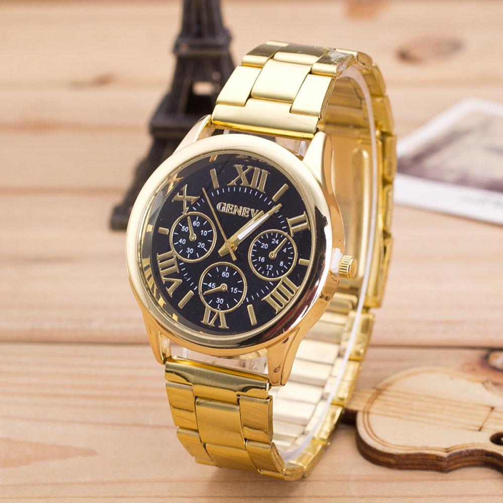 Кварцові наручні годинники Jeneva Oro sur Nigra