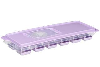 Форма для льоду Ardesto Fresh AR1101LP 26х9х3 см фіолетова