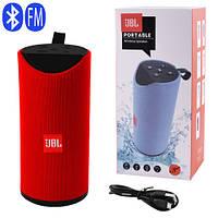 Bluetooth-колонка JBL T113, speakerphone, радио, red